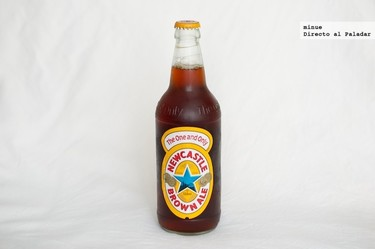 Newcastle Brown Ale. Cata de cerveza