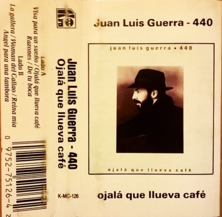 Cassette1990juanluisguerra