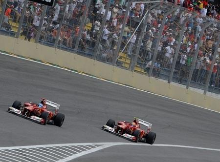 Un Fernando Alonso entero se muestra orgulloso del trabajo realizado y del subcampeonato