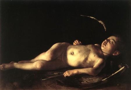 Caravaggio Sleeping Cupid