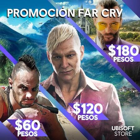 Oferta en juegos de Far Cry en México