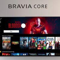 Bravia Core: el nuevo servicio de streaming integrado en los televisores Sony con películas en 4K HDR y bitrate de hasta 80 Mbps