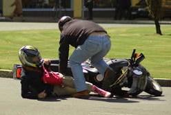 El 20% de los muertos en carretera en julio iban en moto