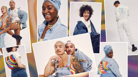 El arcoíris tiñe la colección de Levi's dedicada al Día del Orgullo 2021