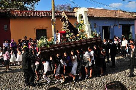 Semana Santa en Antigua, Guatemala