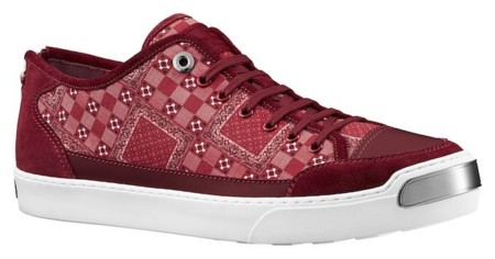 lv zapatillas rojas