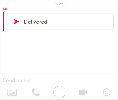 Chat de Snapchat