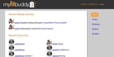 Myfitbuddy, viendo el progreso de nuestros ejercicios físicos