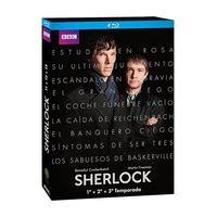 Las tres primeras temporadas de Sherlock en BluRay sólo cuestan 24,15 euros en Amazon