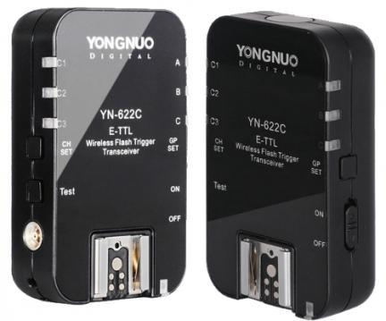 Yongnuo prepara su trigger E-TTL YN-622C para Canon en este mes de Julio