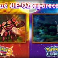 La versión de Pokémon Sol/Luna que elijamos determinará cómo será nuestro Ultra Ente 02