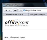 Microsoft prepara el camino para Office Web Applications y compra el dominio Office.com
