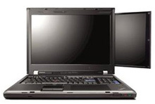 Lenovo ThinkPad W700, portátil con pantalla auxiliar