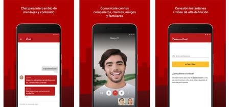 Aplicacion Zadarma Videollamada