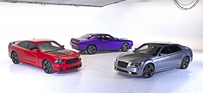 Dodge Challenger SRT8 y Chrysler 300 SRT8
