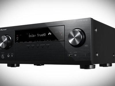 Pioneer VSX-832, un receptor de gama media-baja compatible con Dolby Atmos y DTS:X