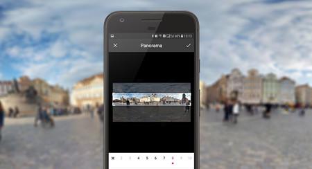 Cómo crear una galería de Instagram a partir de una foto panorámica