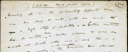 ¿Quieres leer las anotaciones auténticas de Charles Darwin?