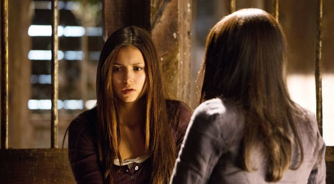Elena Vampiro en The Vampire Diaries