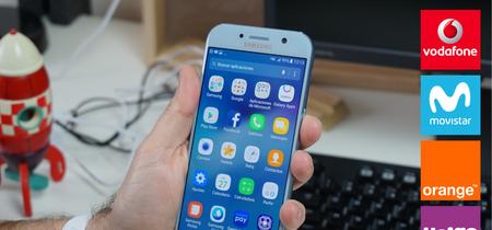 Samsung Galaxy A5 (2017) llega a Vodafone y Orange: comparamos su precio a plazos con Movistar y Yoigo