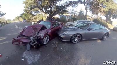 Dolorpasión™: RUF Turbo R y Porsche 911 accidentados