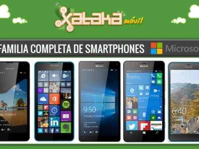 Así queda el catálogo de smartphones Microsoft Lumia
