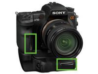 Sony A700 europea, sin sensor de empuñadura