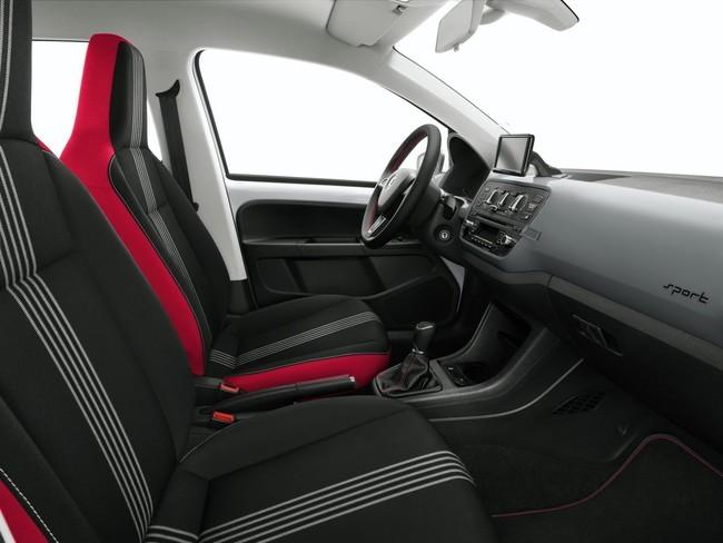 Škoda Citigo Sport, vista interior