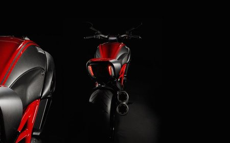 La impresionante Ducati Diavel