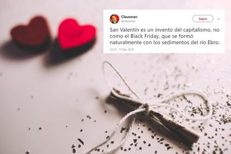 Los 25 mejores tuits si lo que quieres es celebrar San Valentín riendo a carcajadas