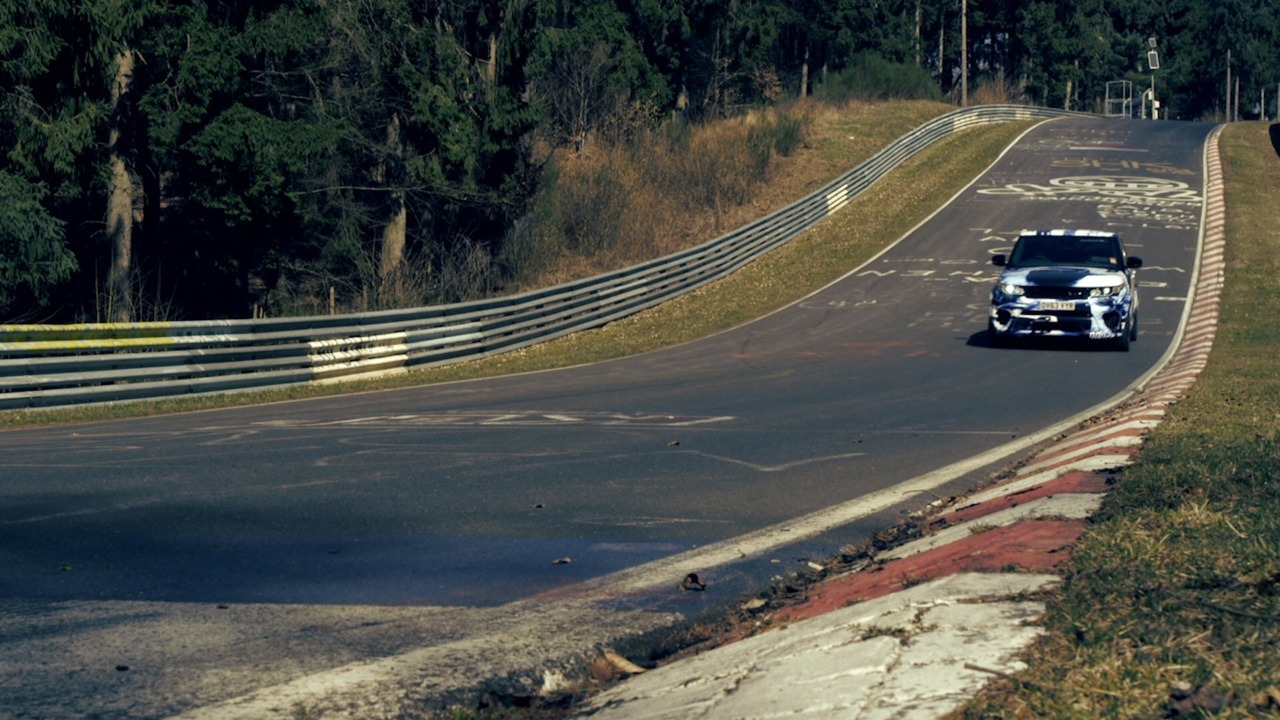 Foto de Range Rover Sport SVR - Nürburgring (3/4)