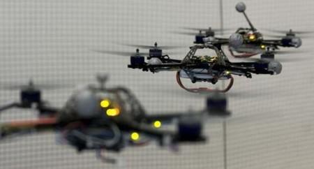 [Vídeo] Robots voladores que juegan al tenis