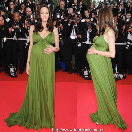 Los looks de Angelina Jolie y Eva Longoria en la premiere de Kun Fu Panda