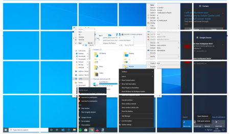 windows 10 diseño