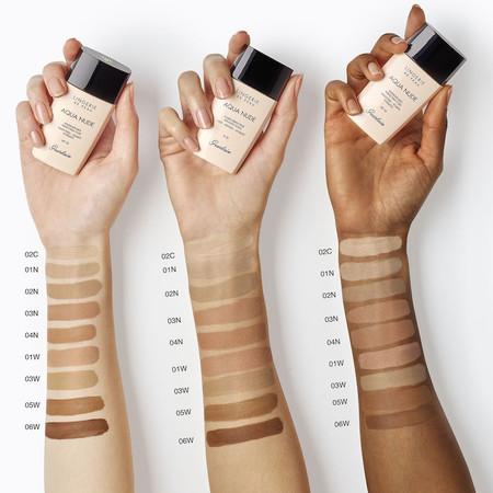 base de maquillaje piel