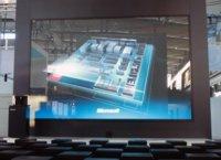 Microsoft Cinema, 234 pulgadas táctiles para la mejor de las presentaciones
