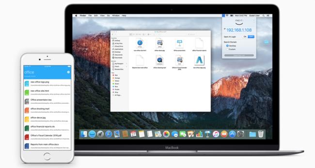 Find It es la app que te permite tener todo el Finder de tu Mac en el iPhone