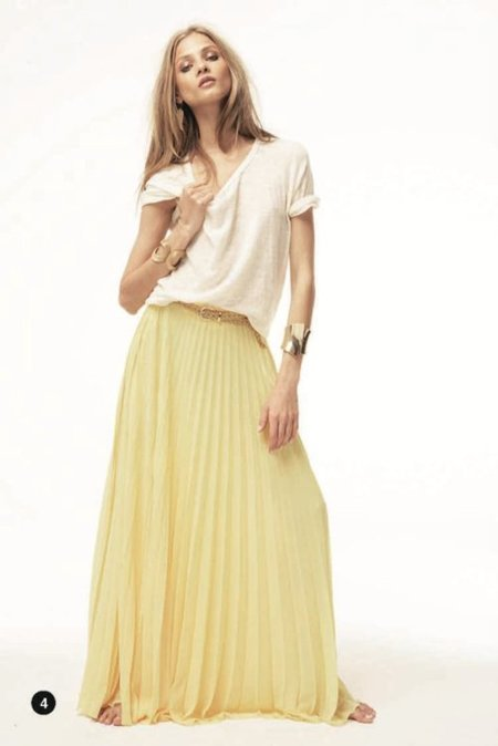 Tablas Mango lookbook primavera 2012
