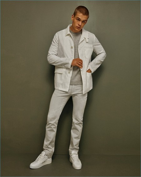 Calvin Klein 2017 Pre Spring Mens Collection Lookbook 003