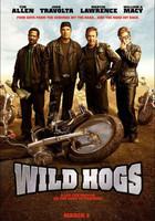 Poster de 'Wild Hogs', con Travolta, Allen, Lawrence y Macy