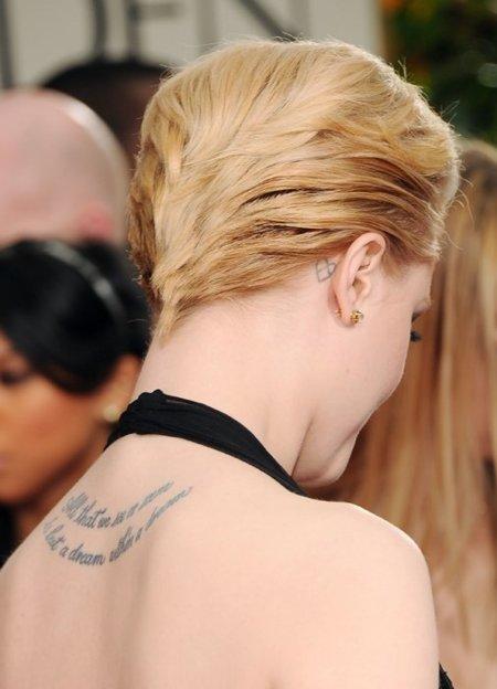 Evan Rachel Wood Globos de Oro 2012