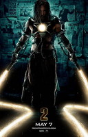 'Iron Man 2', cartel con Mickey Rourke