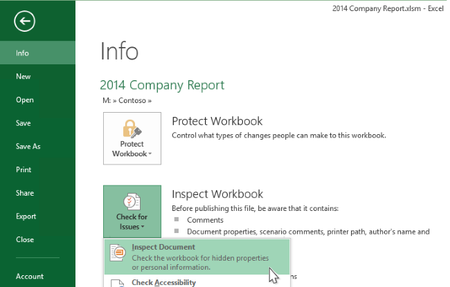 Microsoft agrega mejoras a la inspección de documentos en Word, Excel y PowerPoint