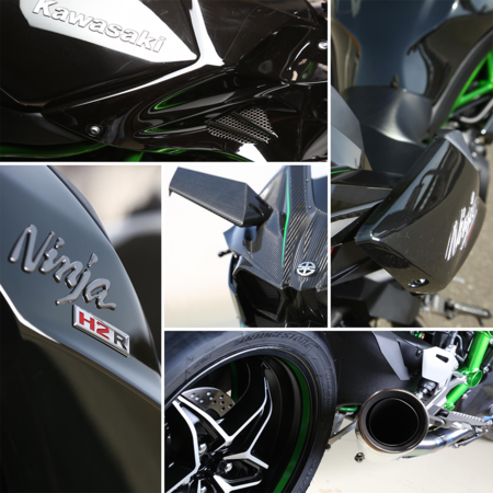 Detalles Kawasaki H2r