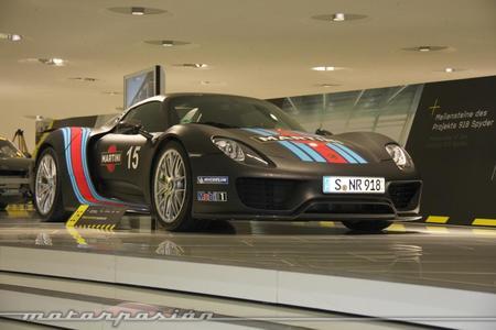 Porsche Museum Top Secret 918 Spyder 1