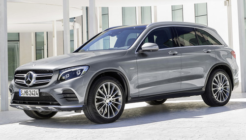 Mercedes-Benz GLC: así es el sustituto del GLK