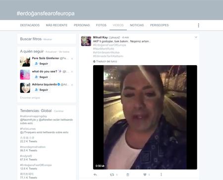 Seguir Tema En Twitter