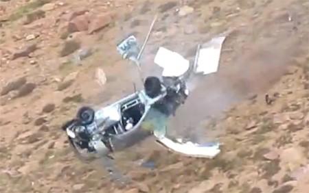 El espeluznante accidente de Jeremy Foley en el Pikes Peak