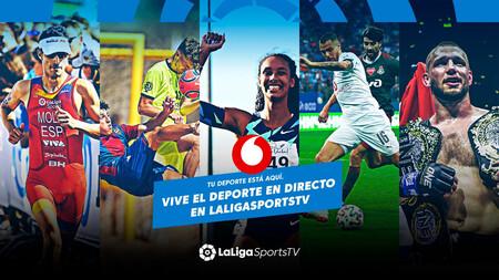 Vodafone TV integra gratis LaLigaSportsTV: más de 30 deportes diferentes en directo y bajo demanda