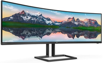 Philips anuncia su nuevo y llamativo monitor: el Brilliance 498P9Z luce 49 pulgadas, relación de aspecto 32:9 y 165 Hz